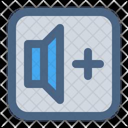 Volume Minus Dualtone Icon