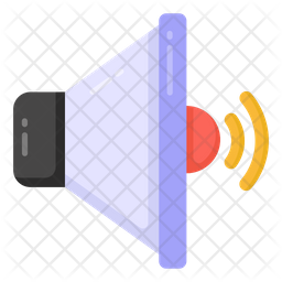 Volume speaker Flat Icon