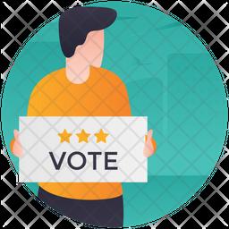 Vote Publicity Icon