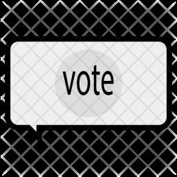 Voting conversation Icon