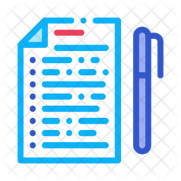 Voting document Icon