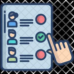 Voting Machine Icon