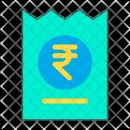 Voucher Rupees Icon