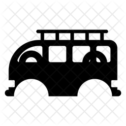 Wagon Glyph Icon