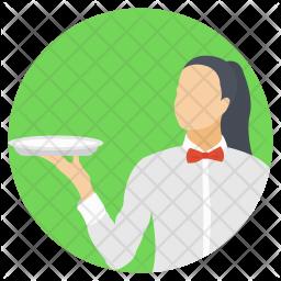 Waitress Icon