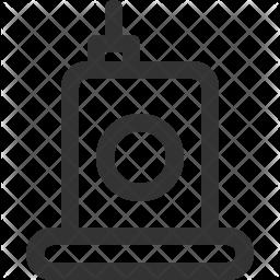 Walkie Line Icon