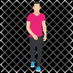 Walking  Human Icon
