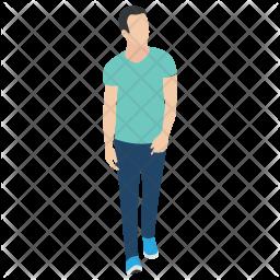 Walking Man Icon
