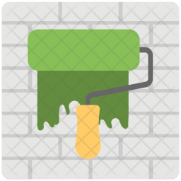 Wall Paint Icon