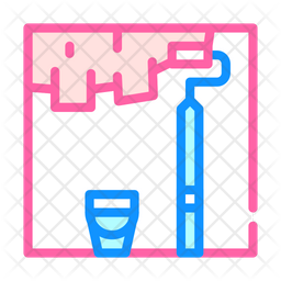 Wall Putty Icon