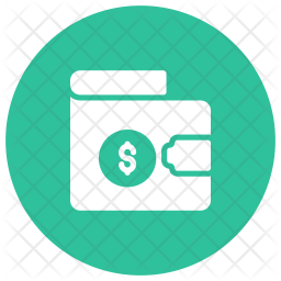 Wallet Glyph Icon