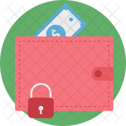 Wallet Protection Rounded Icon