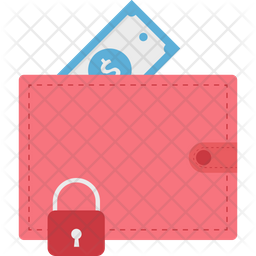 Wallet Protection Flat Icon