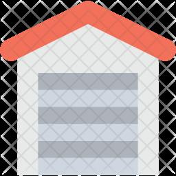 Warehouse Exterior Icon