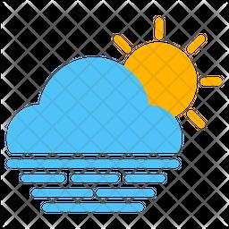 Warm Flat Icon