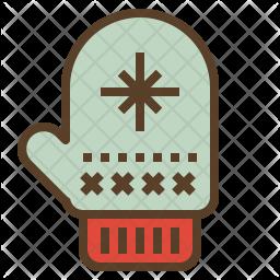 Warm Glove Icon