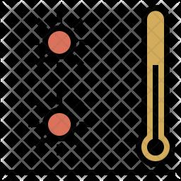 Warm temperature Icon