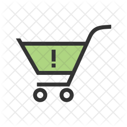 Warning Colored Outline Icon