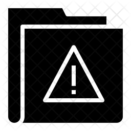 Warning Folder Icon