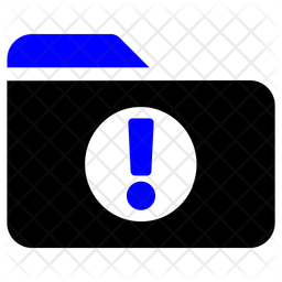 Warning Folder Icon