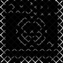 Washing Machine Glyph Icon