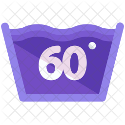 Washing temperature Icon