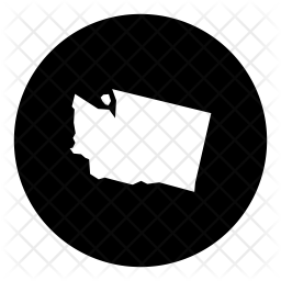 Washington Glyph Icon