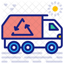 Waste management Colored Outline Icon