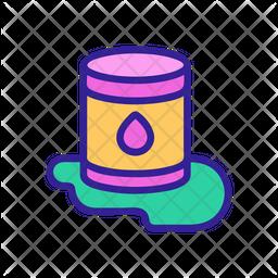 Waste Pollution Icon