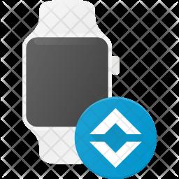 Watch bandwith Flat Icon