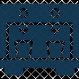 Water Dispenser Glyph Icon