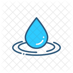 Water Drop Icon Of Colored Outline Style Available In Svg Png Eps Ai Icon Fonts