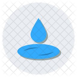 Water Drop Icon Of Flat Style Available In Svg Png Eps Ai Icon Fonts