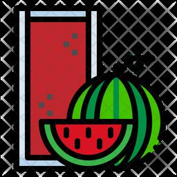 Watermelon Juice Icon