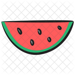 Free Watermelon Slice Icon Of Doodle Style Available In Svg Png Eps Ai Icon Fonts