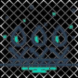 Waterproof Line Icon