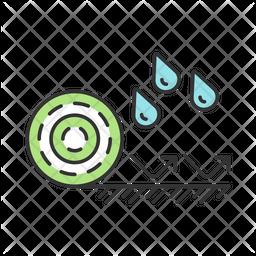 Waterproof Flooring Icon