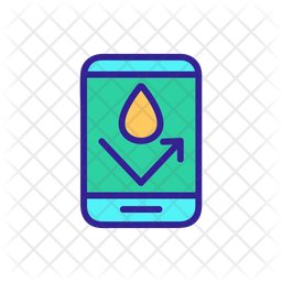 Waterproof Mobile Icon