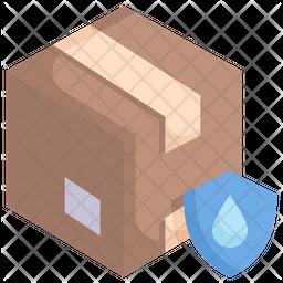 Waterproof packaging Icon