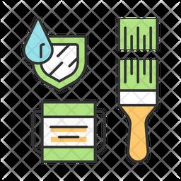 Waterproof Paint Icon