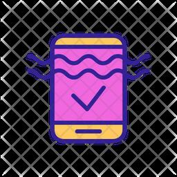 Waterproof Phone Icon