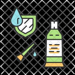 Waterproof Sealant Icon