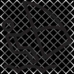 Waterski Icon