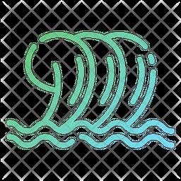 Wavy Pool Icon