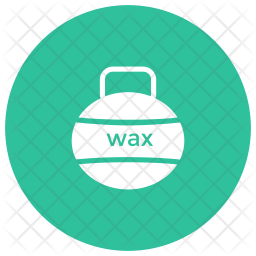 Wax Glyph Icon
