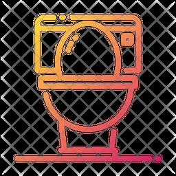 Wc Gradient Icon