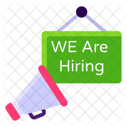We are Hiring Icon