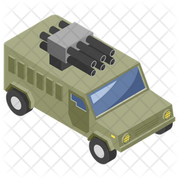 Weapon Truck Icon