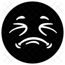 Weary Emoji Icon