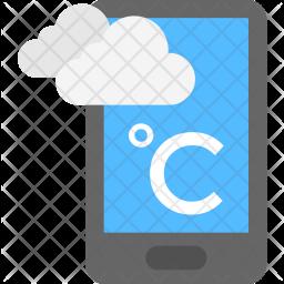 Weather App Flat Icon